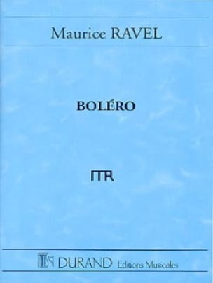 Maurice Ravel - Bolero - Driver - Partition - di-arezzo.co.uk