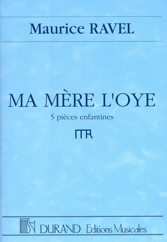 Maurice Ravel - My Mother The Eye - Partition - di-arezzo.com
