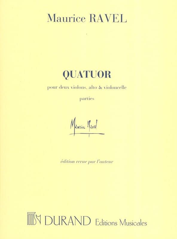 Maurice Ravel - String Quartet - parts - Partition - di-arezzo.co.uk