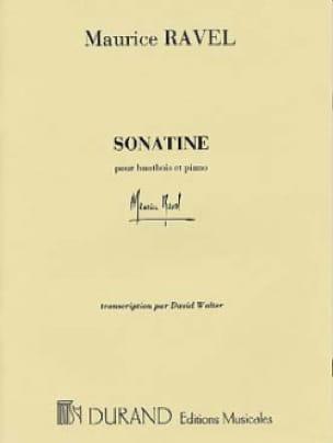 Sonatine - hautbois et piano - RAVEL - Partition - laflutedepan.com