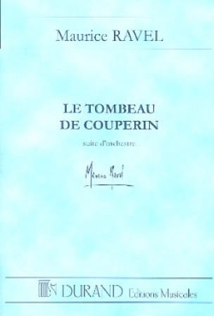 Maurice Ravel - The Tomb of Couperin - Conductor - Partition - di-arezzo.com