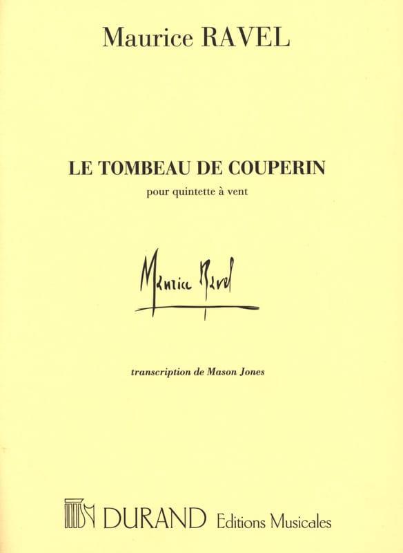 Le Tombeau de Couperin - Quintette à vent -Conducteur - laflutedepan.com