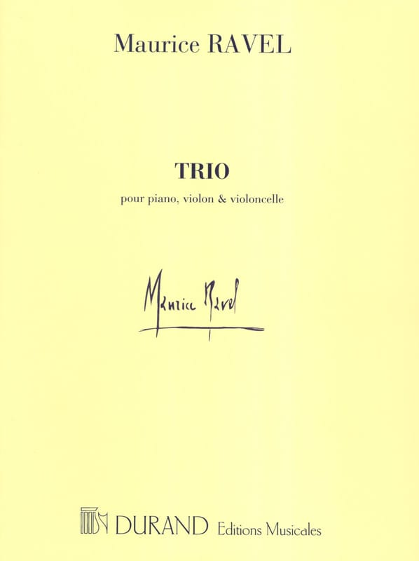 Trio - Parties - RAVEL - Partition - Trios - laflutedepan.com