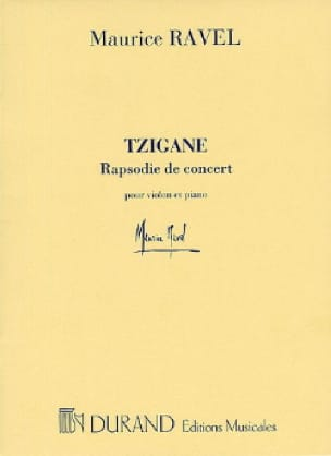 Maurice Ravel - Gypsy - Violin piano - Partition - di-arezzo.co.uk