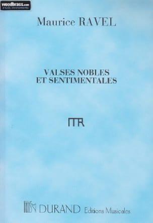 Valses Nobles et Sentimentales - Conducteur - RAVEL - laflutedepan.com