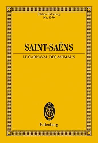 Camille Saint-Saëns - Le Carnaval des Animaux - Partition - di-arezzo.fr