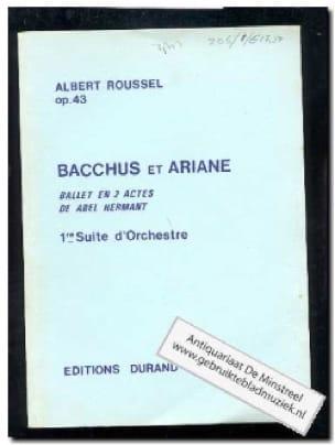 Bacchus et Ariane - Suite n° 1 op. 43 - Conducteur - laflutedepan.com
