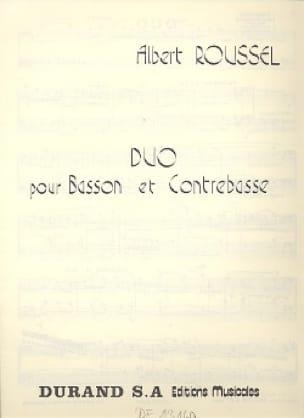 Duo pour basson et contrebasse - ROUSSEL - laflutedepan.com