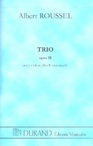 Albert Roussel - Trio op. 58 - Driver - Partition - di-arezzo.co.uk
