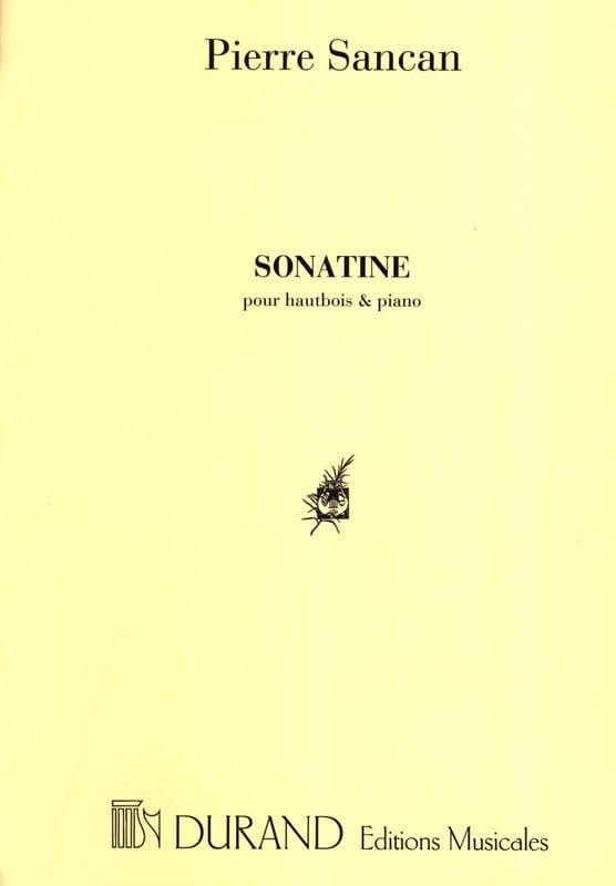 Pierre Sancan - Sonatine for oboe and piano - Partition - di-arezzo.com