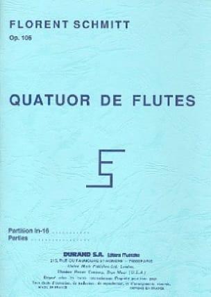 Quatuor pour Flutes, op. 106 - Poche - laflutedepan.com