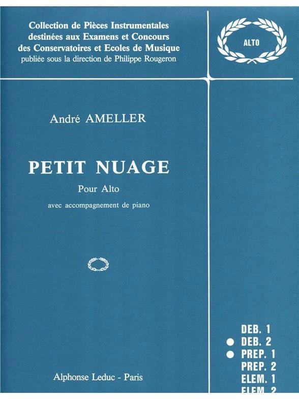 Petit nuage - André Ameller - Partition - Alto - laflutedepan.com