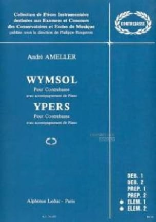 André Ameller - Wymsol / Ypers - Partition - di-arezzo.co.uk