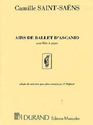 Camille Saint-Saëns - Ascanio Ballet Tunes - Flauta para piano - Partition - di-arezzo.es