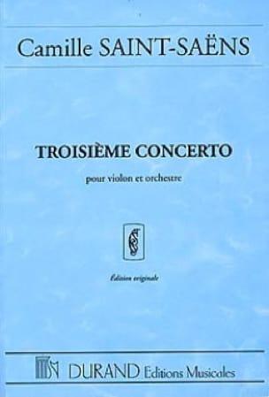 Camille Saint-Saëns - Violin Concerto No. 3 op. 61 - Driver - Partition - di-arezzo.co.uk