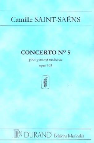 Camille Saint-Saëns - Concerto Piano No. 5 Op. 103 - Partition - di-arezzo.co.uk