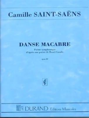 Camille Saint-Saëns - Dance macabre op. 40 - Driver - Partition - di-arezzo.co.uk