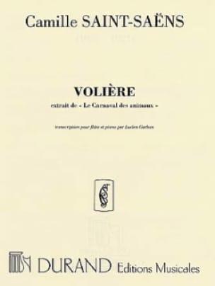 Camille Saint-Saëns - La pajarera - flauta de piano - Partition - di-arezzo.es