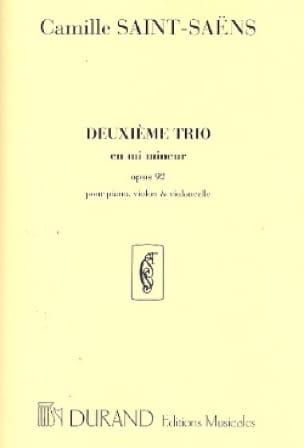 Camille Saint-Saëns - Trio No. 2 in E minor op. 92 - Partition - di-arezzo.co.uk
