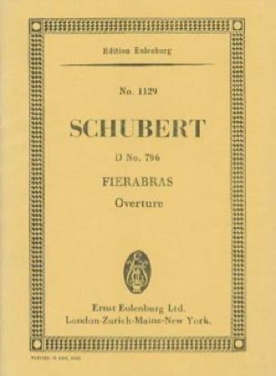 Fierabras - SCHUBERT - Partition - Petit format - laflutedepan.com