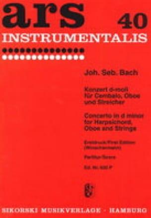 Konzert d-moll für Cembalo BWV 1059 - BACH - laflutedepan.com