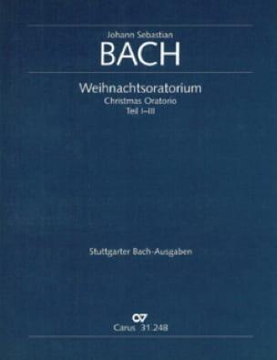 Weihnachtsoratorium BWV 248, Teil 1-3 - Conducteur - laflutedepan.com