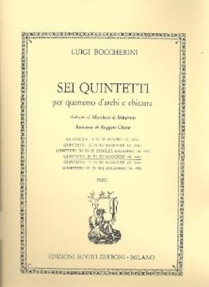 Quintetto n° 4 in re maggiore G. 448 -Parti - laflutedepan.com
