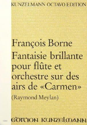 Fantaisie brillante sur des airs de Carmen pour flûte et orch. - laflutedepan.com