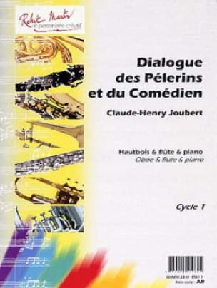 Claude-Henry Joubert - Dialogue of Pilgrims and Actor - Partition - di-arezzo.co.uk