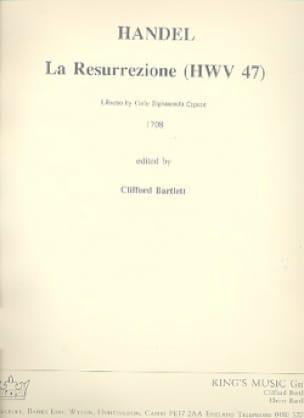 La Resurrezione HWV 47 - Score - HAENDEL - laflutedepan.com