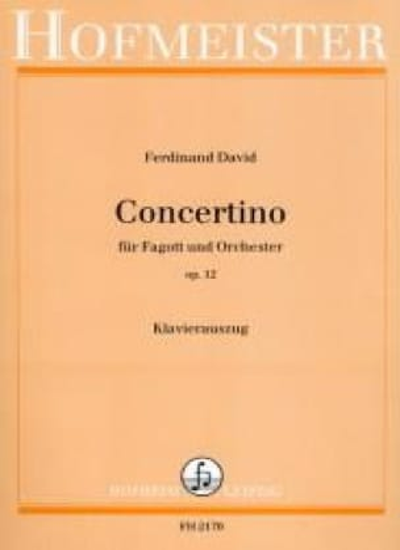 Concertino Op. 12 - Ferdinand David - Partition - laflutedepan.com