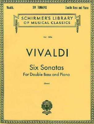 VIVALDI - 6 Sonatas - Bajo String - Partition - di-arezzo.es