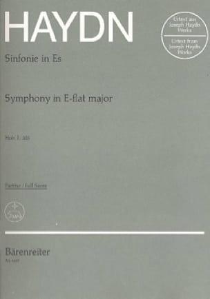 HAYDN - Symphonie Nr. 103 Mi Bémol Majeur - Partitur - Partition - di-arezzo.fr
