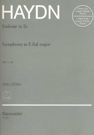 HAYDN - Symphony No. 103 E Flat Major - Partitur - Partition - di-arezzo.co.uk