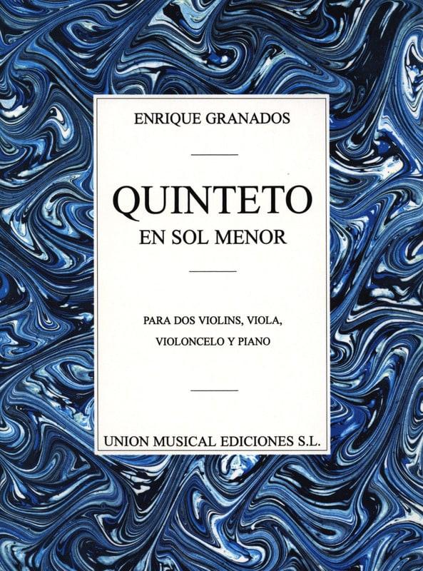 Quintette en Sol Mineur - Enrique Granados - laflutedepan.com