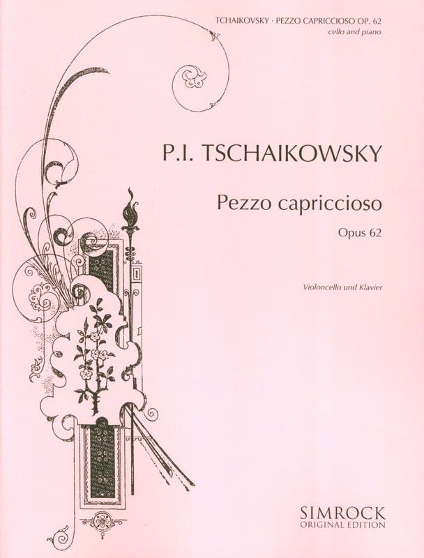 TCHAIKOVSKY - Pezzo Capriccioso op. 62 - Partition - di-arezzo.co.uk