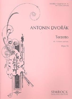 DVORAK - Terzetto op. 74 - 2 Violinen Viola - Stimmen - Partition - di-arezzo.com