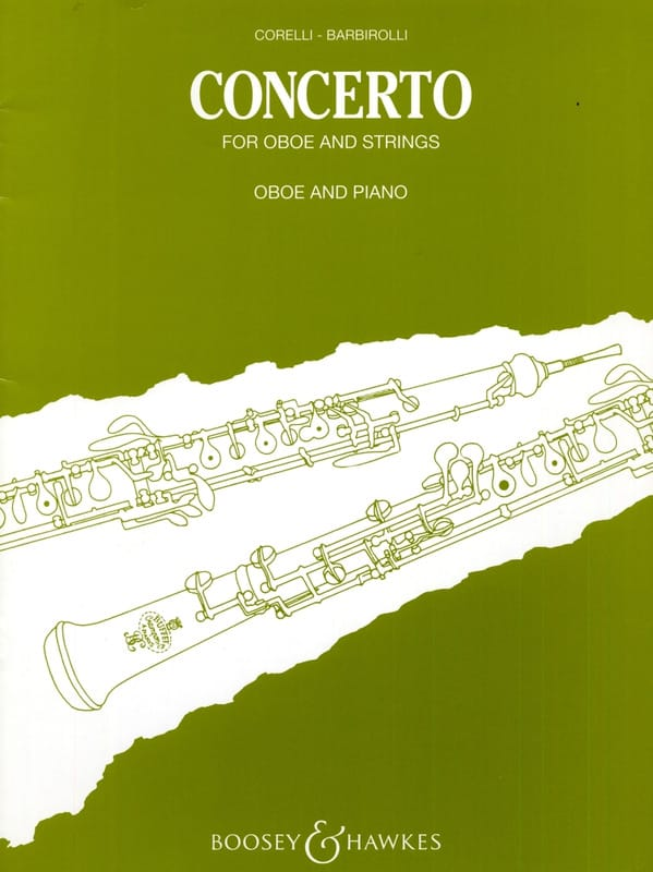 Concerto - CORELLI - Partition - Hautbois - laflutedepan.com