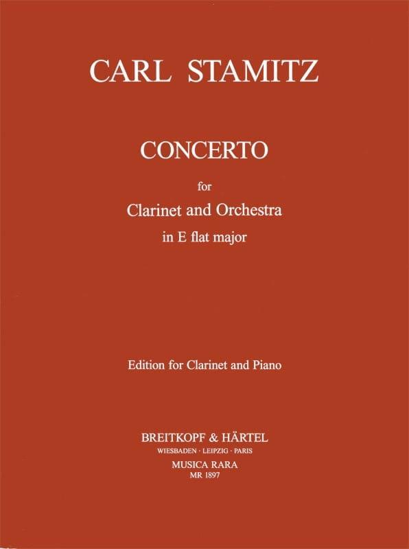 Carl Stamitz - Clarinet Concerto Eb Major - Partition - di-arezzo.co.uk