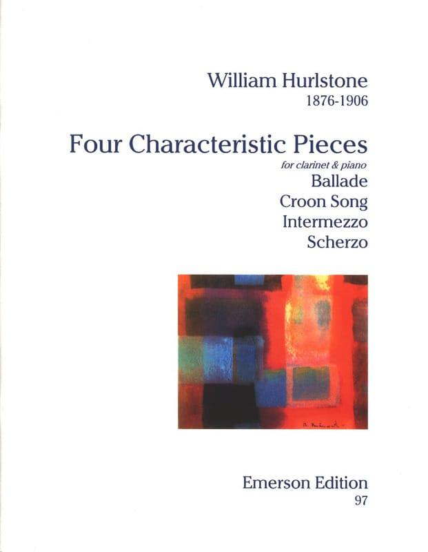 4 Characteristic pieces - William Yeates Hurlstone - laflutedepan.com
