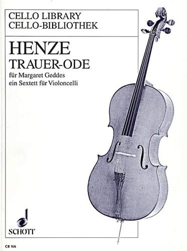 Trauer-Ode - Hans Werner Henze - Partition - laflutedepan.com