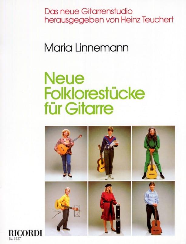 Maria Linnemann - Neue Folklorestucke für Gitarre - Partition - di-arezzo.co.uk