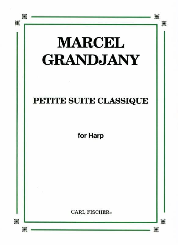 Marcel Grandjany - Petite suite classique - Partition - di-arezzo.fr