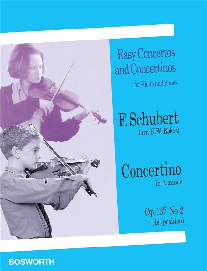 Concertino in A minor op. 137 n° 2 - Violin - laflutedepan.com