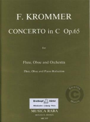 Franz Krommer - Concerto in C major op. 65 - Flute oboe piano - Partition - di-arezzo.com