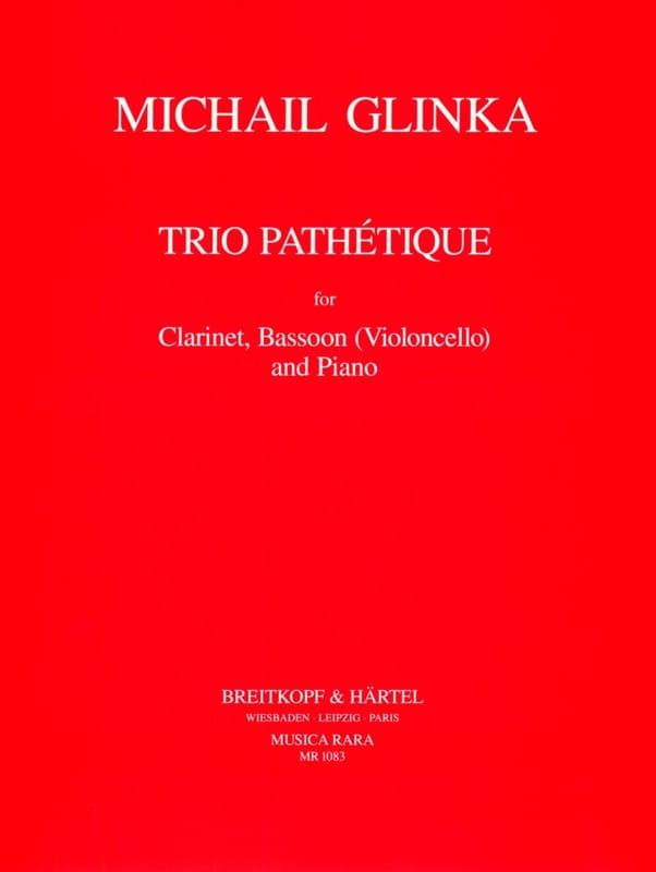 Trio Pathétique -Clarinet, Bassoon cello piano - laflutedepan.com