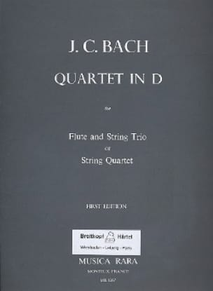 Quartet in D major -Flute string trio String quartet - Parts - laflutedepan.com