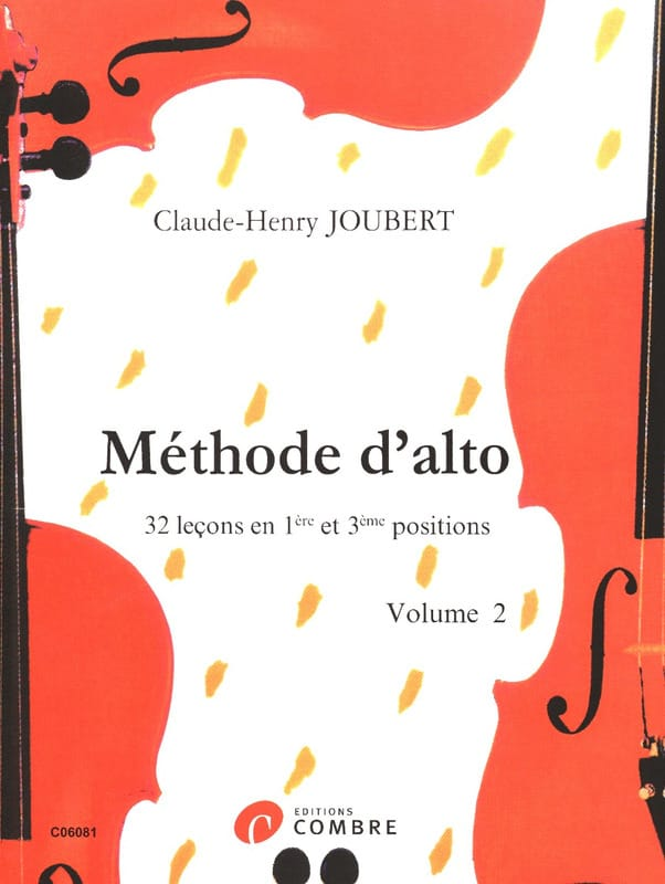 Claude-Henry Joubert - Méthode d'alto Volume 2 - Partition - di-arezzo.fr