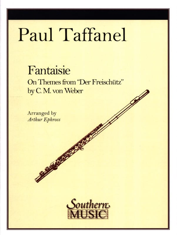 Paul Taffanel - Fantasy on themes from Der Freischütz - Partition - di-arezzo.co.uk