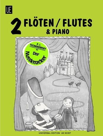 Der Nussknacker -2 Flöten Klavier - TCHAIKOVSKY - laflutedepan.com